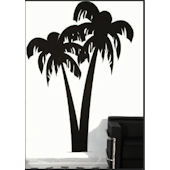 Palm Tree Traceable Mural