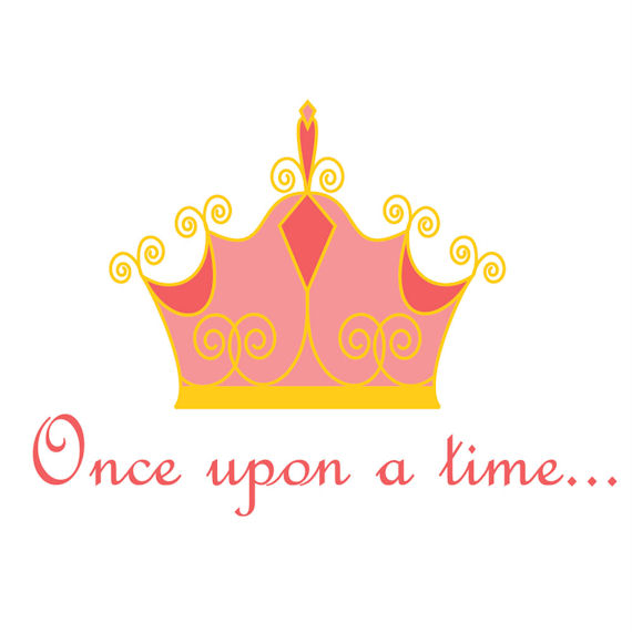 Princess Crown Traceable Wall Mural