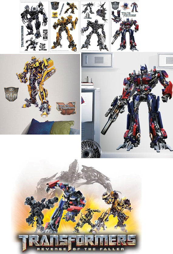 Transformers Complete Room Wall Sticker Package