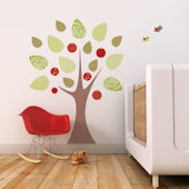 Apple Tree Fabric Decals