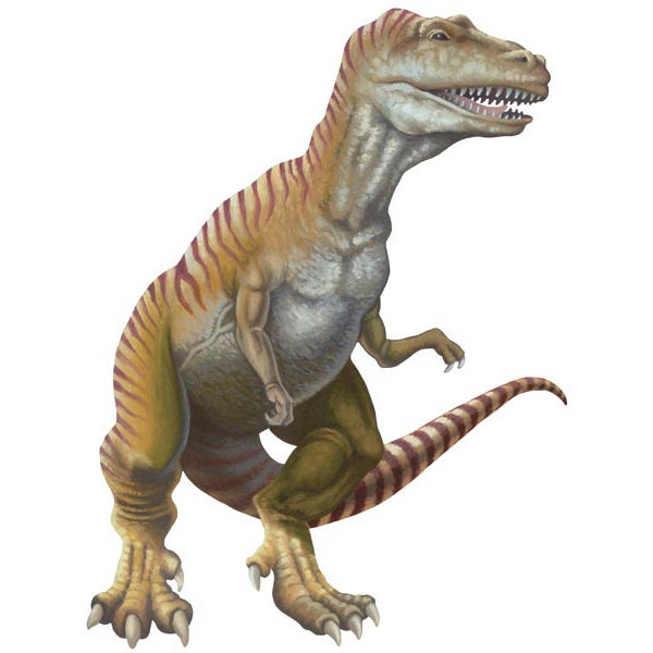 T-Rex Standing Peel and Stick Wall Mural - Wall Sticker Outlet