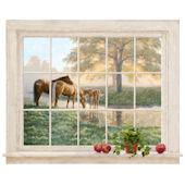 Mare and Foal Wall Mural