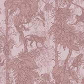 Graham and Brown Ubud Blush Wallpaper