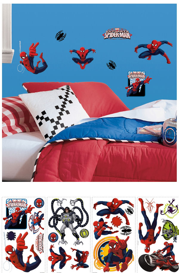 Ultimate Spider-Man Wall Decals - Wall Sticker Outlet