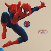 Ultimate SpiderMan Giant Wall Decal