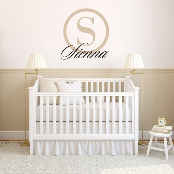 Urbanwalls Custom Personalized Name Wall Decals - Wall Sticker Outlet
