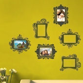 Vintage Photo Frame Wall Decals