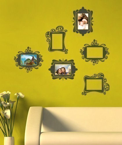 Vintage Photo Frame Wall Decals - Wall Sticker Outlet