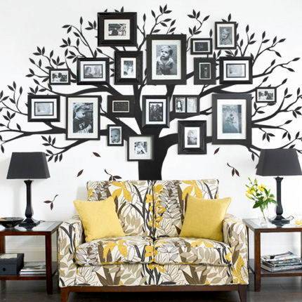 Family Tree Decal - Wall Sticker Outlet