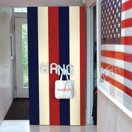 Stripes Americana  Peel and Stick Wallpaper - Wall Sticker Outlet
