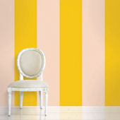 Stripes Sorbet  Peel and Stick Wallpaper