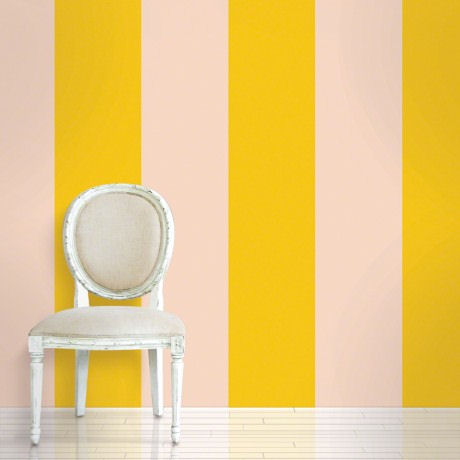 Stripes Sorbet  Peel and Stick Wallpaper - Wall Sticker Outlet