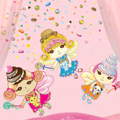 Wall Candy Arts Sweet Dreams Fairies Sticker Kit  sc 1 st  Wall Sticker Outlet : wall candy arts - www.pureclipart.com