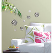 Wall Pops 3D Flower Mirrors Set 7