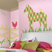 Wall Pops Zoo Wallogy Addison Horse Wall Sticker