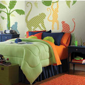 Wall Pops Zoo Wallogy Antoinne Monkey Wall Sticker