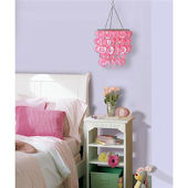 Wall Pops Cupid Pink Chandelier