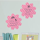 Daisy Shape 2 Dry Erase Peel and Stick Dots