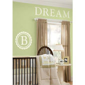 Dorset Monogram Wall Sticker