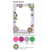 Wall Pops Flower Power Dry Erase Sheet