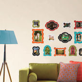 Jonathan Adler Enamel Frames Wall Sticker Kit