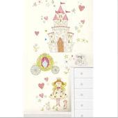 Princess Fairyland Wall Decal Kit
