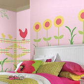 Wall Pops Zoo Wallogy Fence Wall Sticker