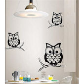 Wall Pops Give A Hoot Small Wall Kit