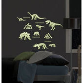 Glow in the Dark Dinosaurs Peel and Stick