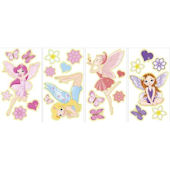 Glow in the Dark Fairies Peel and Stick