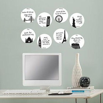 Holiday Weekly Dry Erase Dots - Wall Sticker Outlet