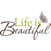 Wall Pops Life is Beautiful  Wall Quotes
