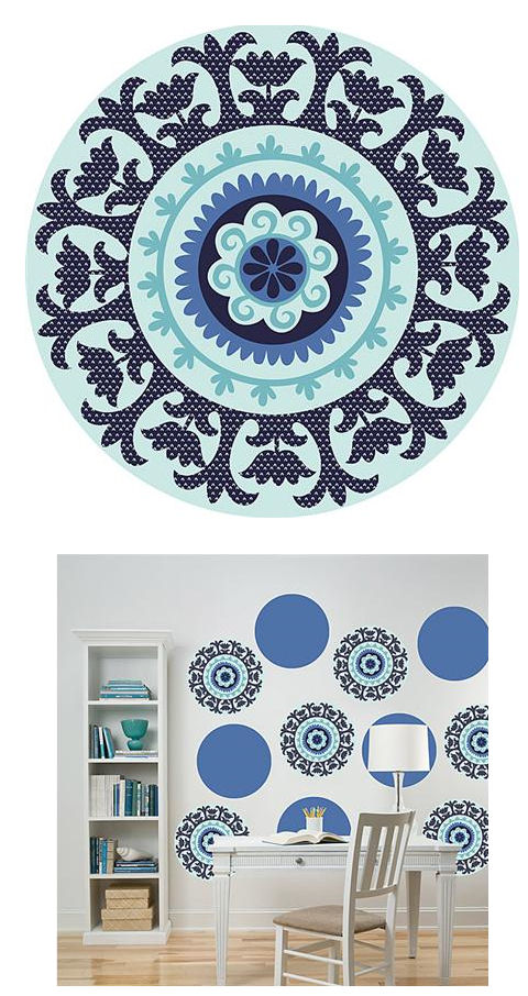 Wall Pops Malaya Set 4 Dots - Wall Sticker Outlet