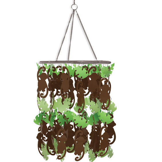 Wall Pops Monkey Chandelier - Wall Sticker Outlet