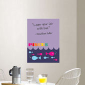 Jonathan Adler Pices Dry Erase Board Sticker