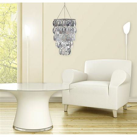 Wall Pops Posh  Silver Chandelier  - Wall Sticker Outlet