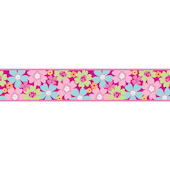 Pretty Flowers Funky Wall Border