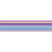 Wall Pops Ribbon Candy Purple Wall Sticker Stripes