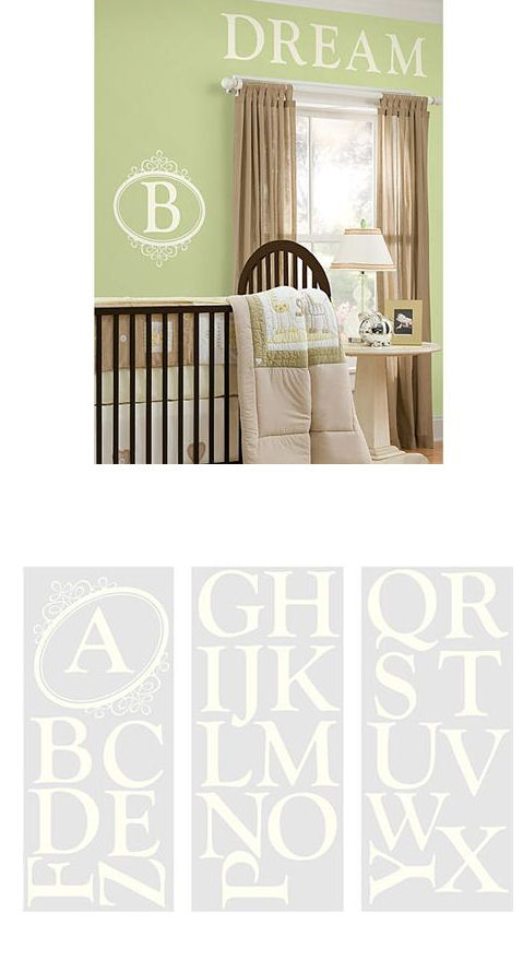 Southampton Monogram Wall Sticker - Wall Sticker Outlet
