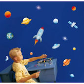 Outer Space Stickaround Wall Stickers