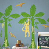 Wall Pops Zoo Wallogy Fundango Tree Wall Sticker