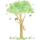 Treehouse Wall Art Sticker Kit