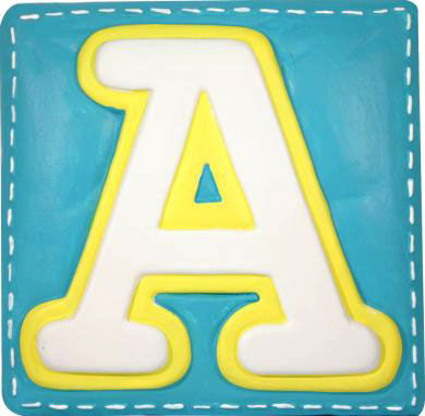 A Wallables Talking Alphabet Letter A - Wall Sticker Outlet