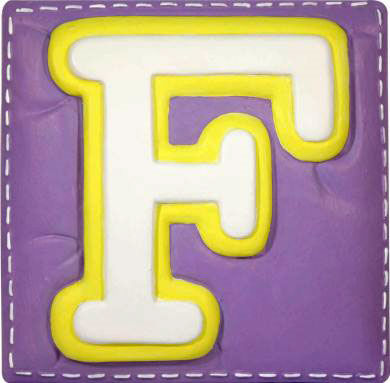 Wallables Talking Alphabet Letter F