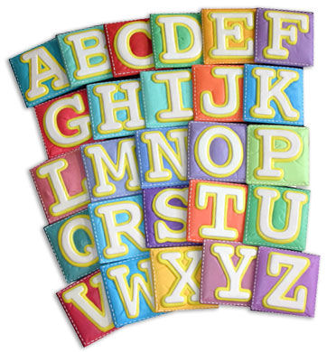 Wallables Talking Alphabet Letters A to Z - Wall Sticker Outlet