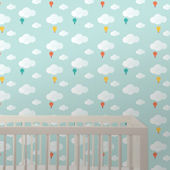 Wee Gallery Baloons Peel & Stick Wallpaper