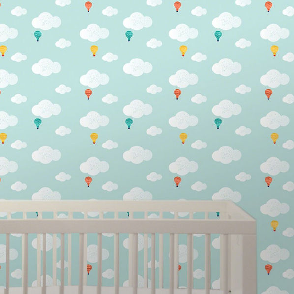 Wee Gallery Baloons Peel & Stick Wallpaper - Wall Sticker Outlet