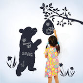 Wall Candy Chalkboard Bear Wall Decals