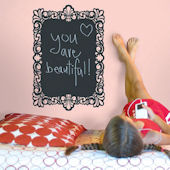 Wallcandy Frame Chalkboard Wall Decal