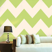 WallCandy Chevron Apple Peel and Stick Wallpaper